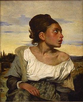 Artiste Eugène Delacroix Année Vers 1824 Type Huile sur toile Dimensions (H × L) 65 5 cm × 54 3 cm Localisation Musée du Louvre, Paris
