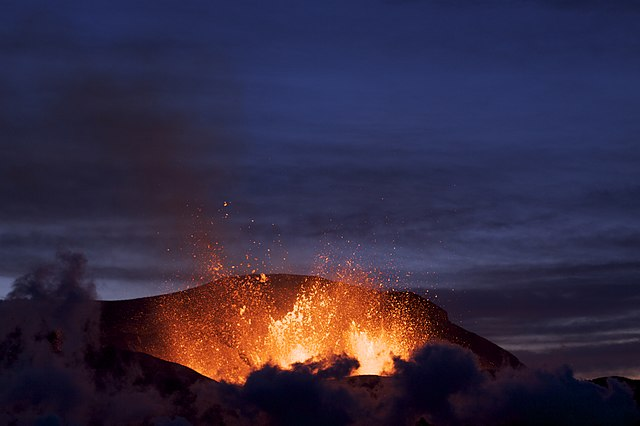 Eruption of Eyjafjallajökul