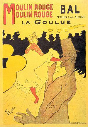 """""""Moulin Rouge - La Goulue"""" Toulouse-..."""