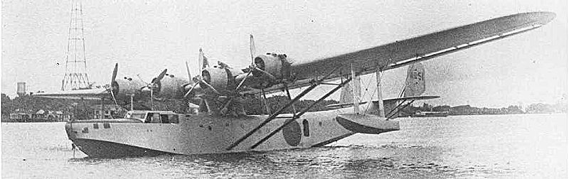 File:Kawanishi H6K Type 97 Transport Flying Boat Mavis H6K-8s.jpg