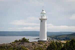 Inglés: Kings Head Lighthouse Cove, Kings Cov ...
