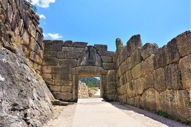 Lion Gate - Mycenae by Joy of Museums