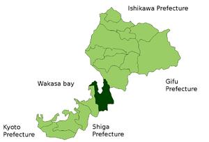 Location of Tsuruga in Fukui