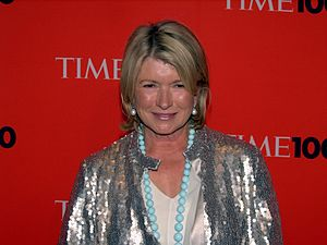 English: Martha Stewart at the 2010 Time 100.
