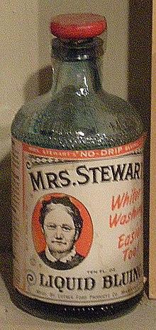 Mrs. Stewart's Bluing - Wikipedia