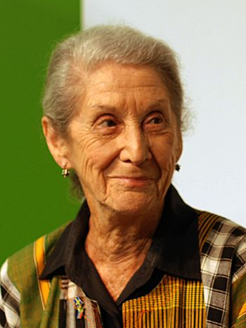 Nadine Gordimer at the Göteborg Book Fair 2010