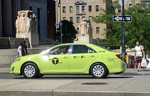 New Green Taxis