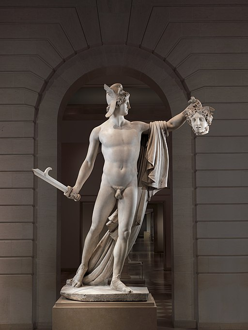 Perseus with the Head of Medusa MET DP249451