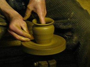 Grarncarz w Rabce / Potter in Rabka