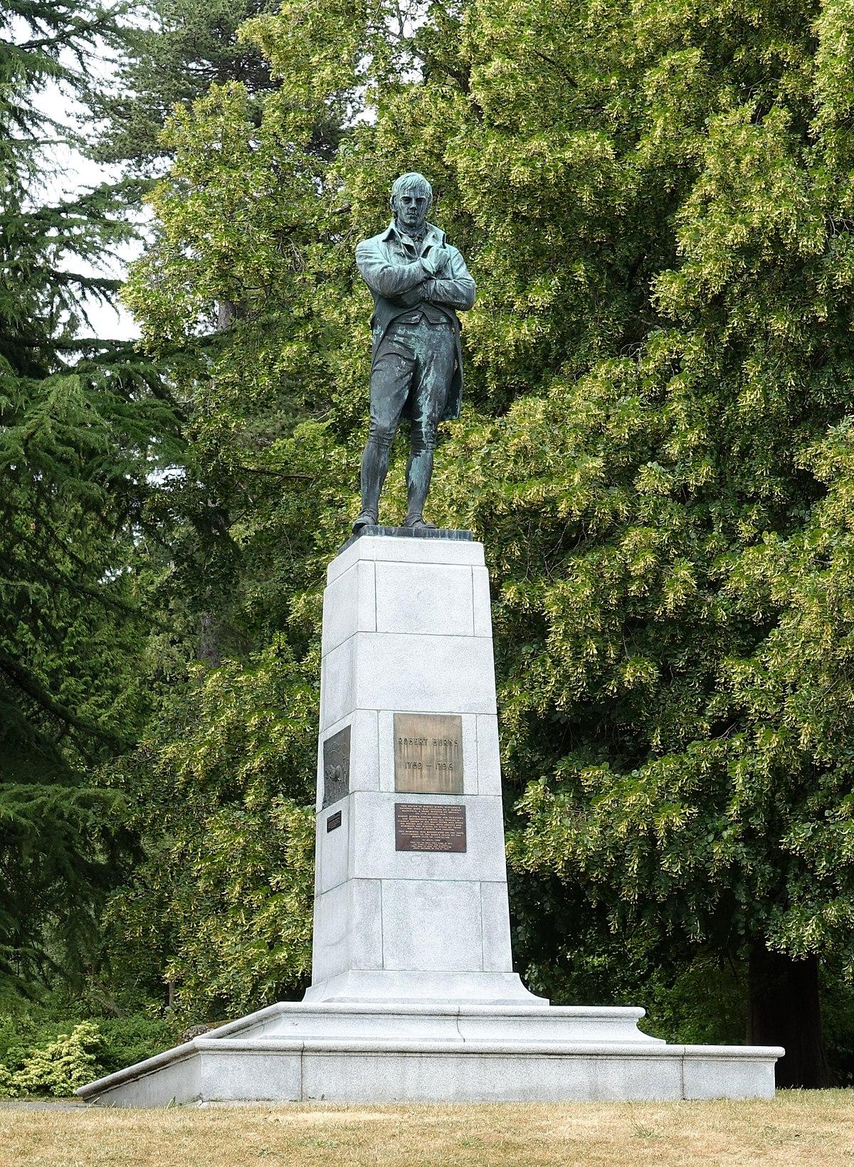 Robert Burns Memorial Stanley Park Wikipedia