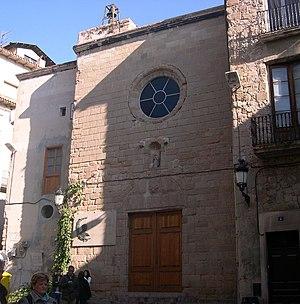 Sant Joan church in Berga, Berguedà, Catalonia...