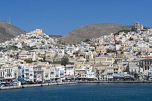 Syros, Ano Syros und Ermoupolis