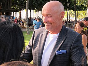 English: The actor Terry O'Quinn Italiano: L'a...