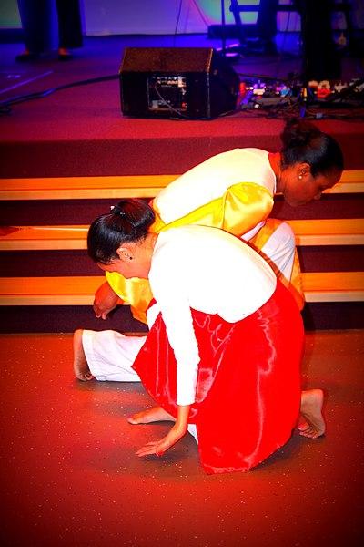 File:Two dancers in church.JPG