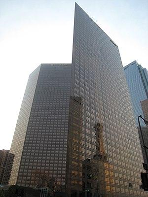 English: Wells Fargo Center in Los Angeles, Ca...