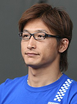 Yuji Ide 2008 Super GT.jpg
