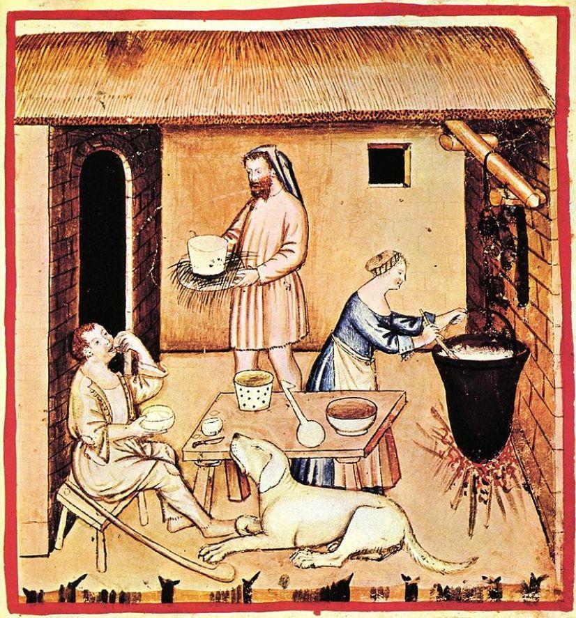 Risultati immagini per mozzarella di bufala medioevo
