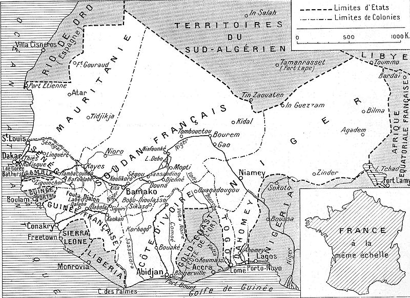 Cote d'Ivoire 1936