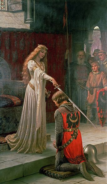 File:Accolade by Edmund Blair Leighton.jpg