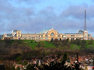 English: Alexandra Palace, Muswell Hill, Londo...
