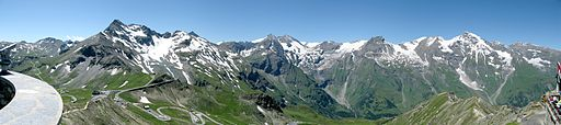 Blick von der Edelweißspitze