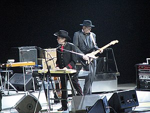 English: Bob Dylan at the Air Canada Centre, T...