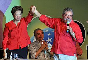 Português do Brasil: O presidente Lula partici...