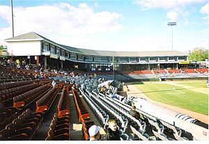 English: Dodd Stadium, Norwich, Conn., taken M...