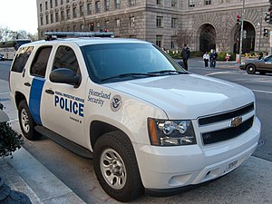 Federal Protective Service tahoe