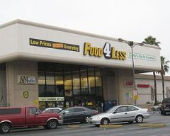Food 4 Less grocery store in Hollywood, California