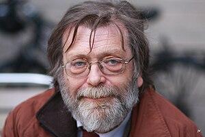 Professor Frank Aarebrot, at Kultkafeen