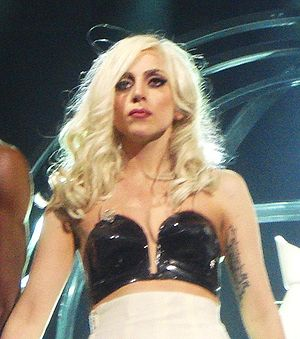 Gaga on The Monster Ball Tour in Toronto