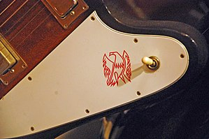 English: close-up of Gibson Firebird at The Al...