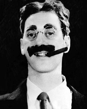 """English: Julius Henry """"Groucho"""" Marx..."""