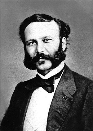 Henry Dunant (1828–1910), Swiss philanthropist...