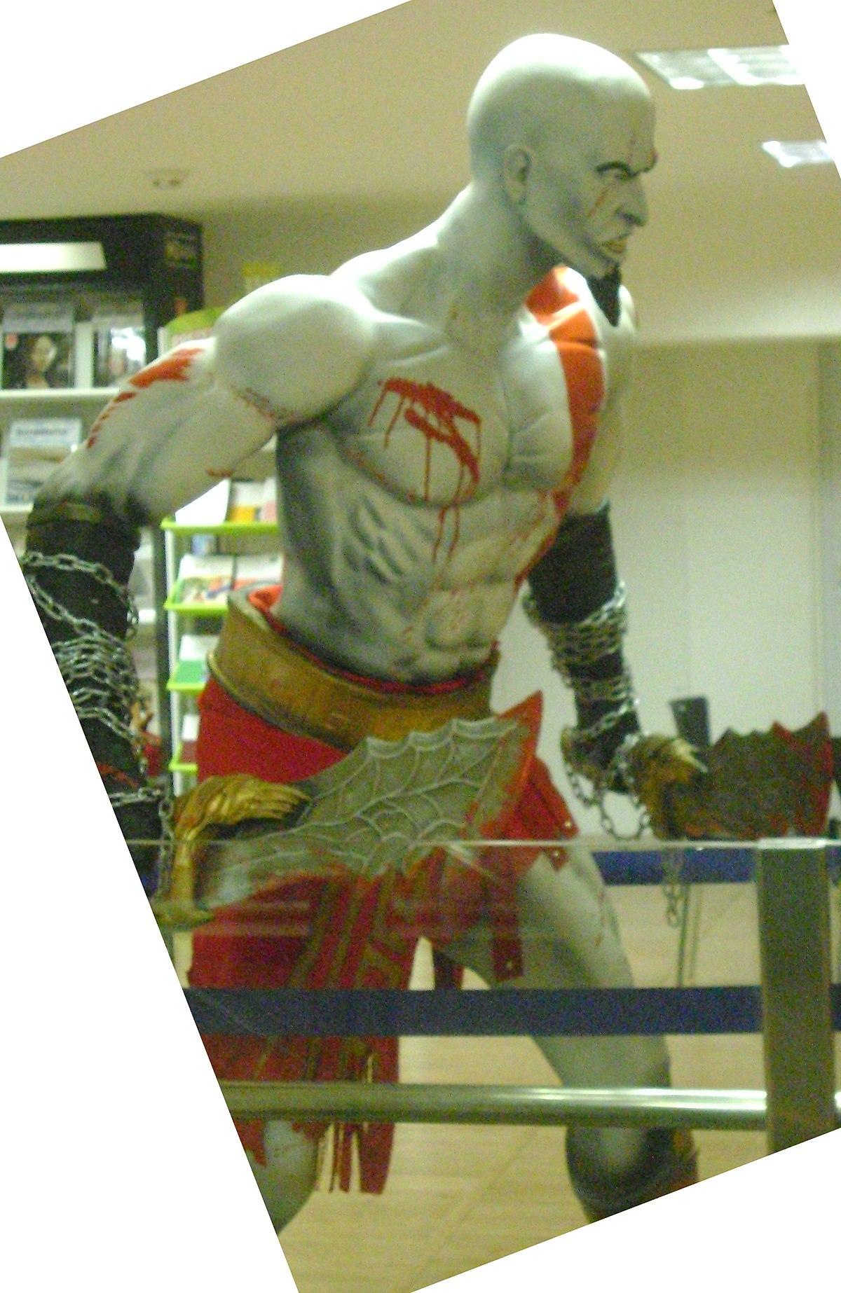 Kratos Personaje Wikipedia La Enciclopedia Libre