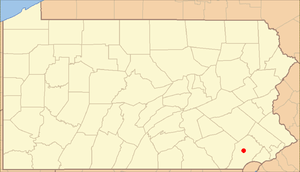 Locator Map of Pennsylvania, United States Add...