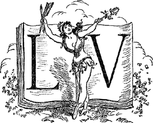 English: Logo of french publisher Léon Vanier