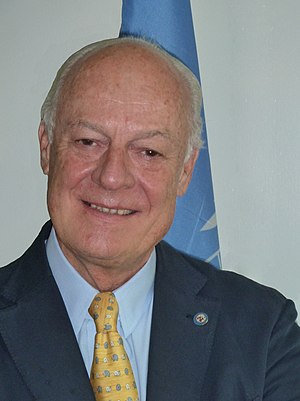 English: Staffan de Mistura, UNAMA