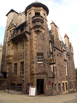 The Writers Museum in Edinburgh