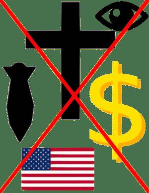 Anti-American graphic