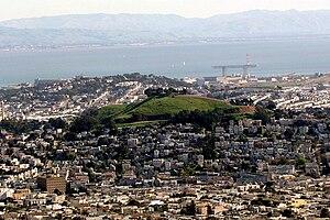 English: Bernal Heights, San Francisco