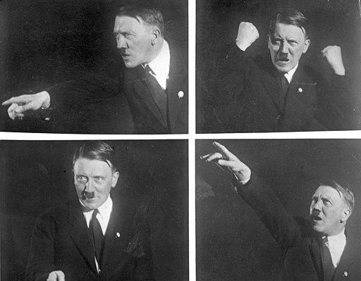 Bundesarchiv Bild 102-10460, Adolf Hitler, Rednerposen