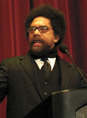 English: Cornel West, keynote speaker at the M...