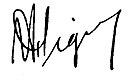 Firma de José Figueres Ferrer