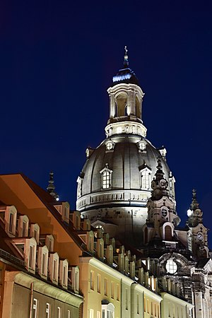 English: Frauenkirche Dresden Deutsch: Frauenk...