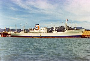 English: The refrigerated general cargo ship G...