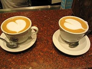 English: Best ever at Café Perú, Rome, Italy. ...