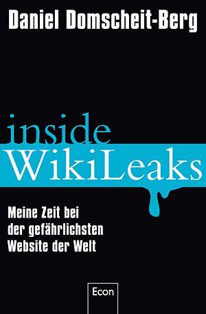 "Book Cover of German book ""Inside Wikilea..."