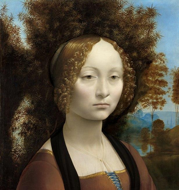 Leonardo da Vinci - Ginevra de' Benci